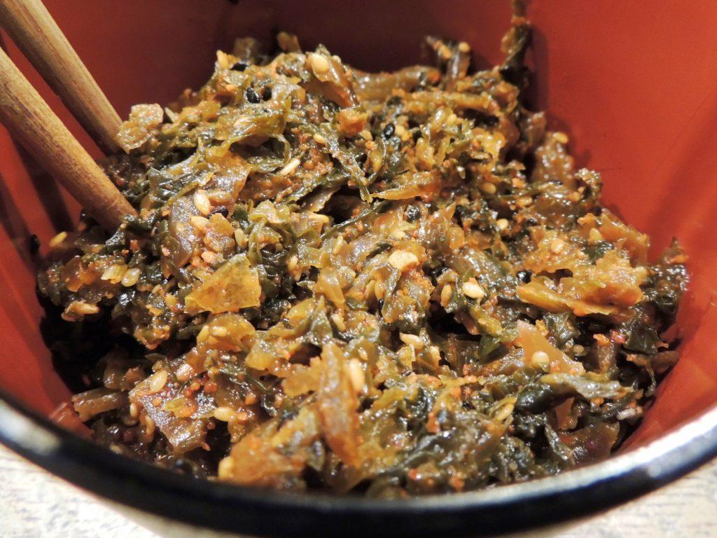 b36937ad0ec60b5c2de98aa1ae69584e m 1024x768 博多ラーメンに入れる辛子高菜の作り方・レシピ